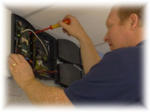 CAMS® Servicing an Access Control Panel