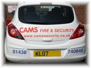CAMS® Corsa Van, Fire Service Vehicle